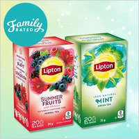 New Offer on FamilyRated.com / Nouvelle Offre sur FamilyRated.com: Lipton® Tea