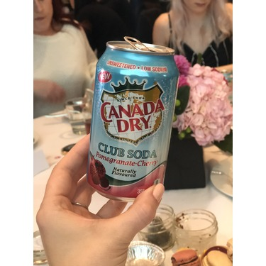 Canada Dry Club Soda Pomegranate-Cherry