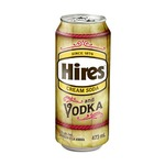 Hires Cream Soda and Vodka