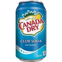 Canada Dry Low Sodium Club Soda