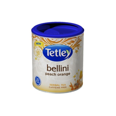 Tetley Bellini Peach Orange Herbal Tea