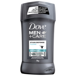 Dove Men+Care Stain Defense Clean Antiperspirant Stick