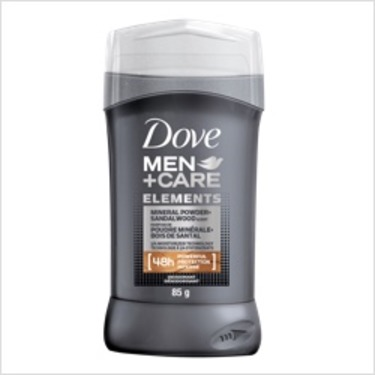 Dove Men+Care Elements Mineral Powder+Sandalwood Deodorant Stick