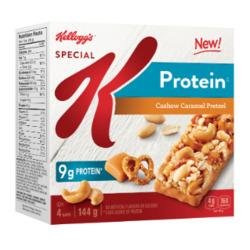 Kellogg's Protein Cashew Caramel Pretzel