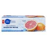 PC Blue Menu Pink Grapefruit Sparkling Water