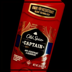 Old Spice 'Captain' Scent Of Command Deoderant