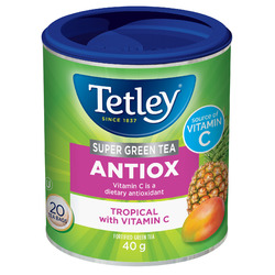 Tetley Super Green ANTIOX Tropical with Vitamin C