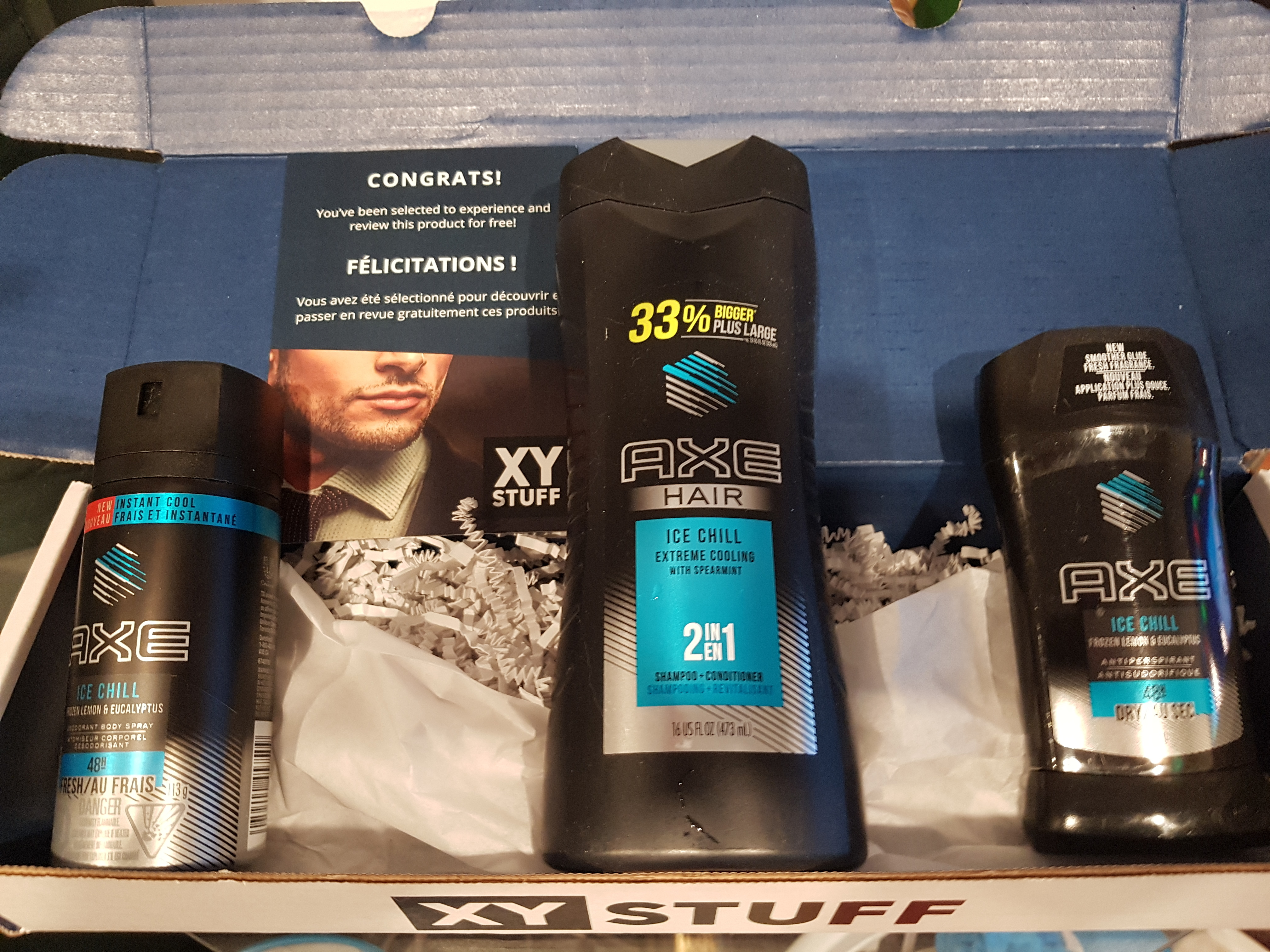 AXE® Ice Chill™ Deodorant Body Spray reviews in Body Sprays