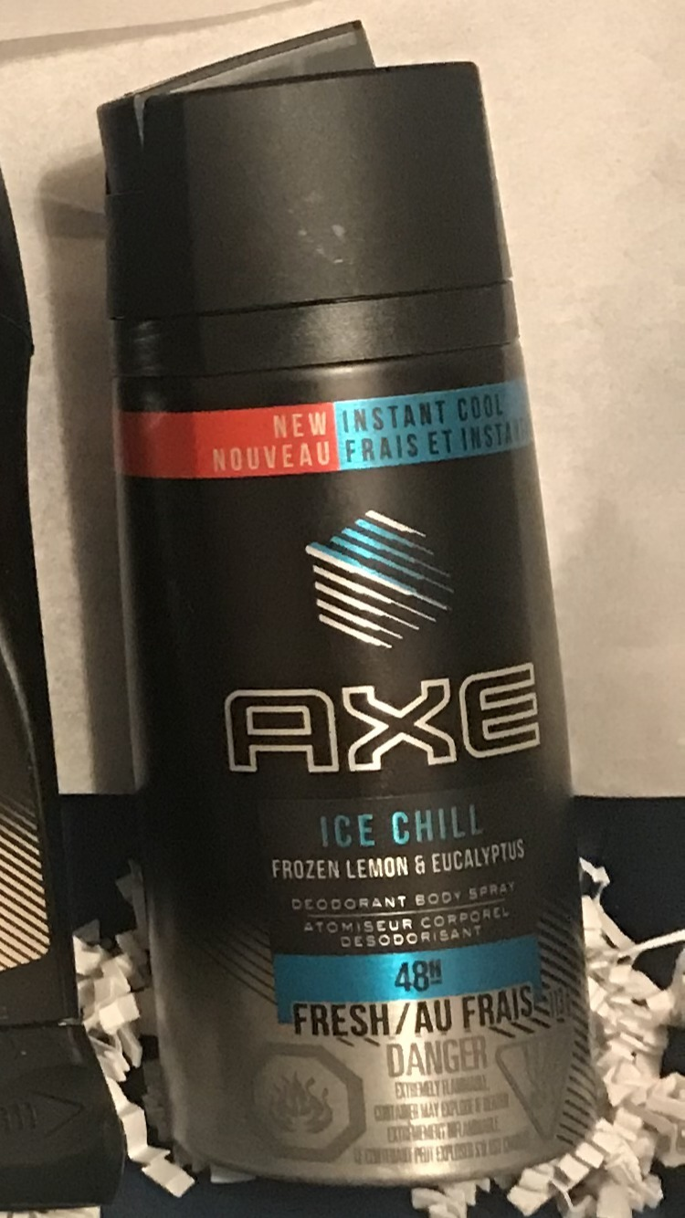 Body Shampoo: AXE® Ice Chill™ Deodorant Body Spray Reviews In Body