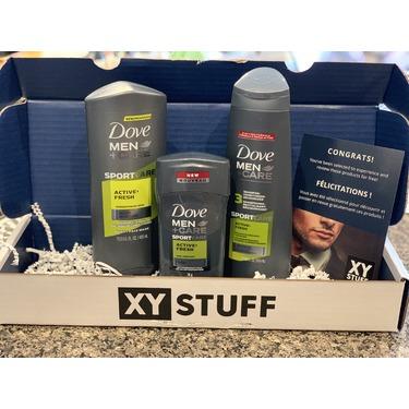 Dove Men+Care SPORTCARE Active+Fresh Body + Face Wash