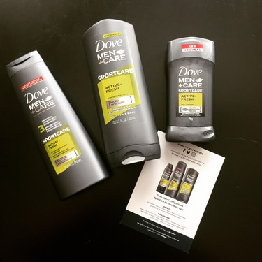 Dove Men+Care SPORTCARE Active+Fresh 2-in-1 Shampoo + Conditioner