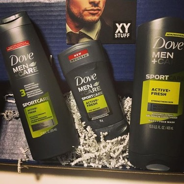 Dove Men+Care SPORTCARE Active+Fresh Antiperspirant Stick