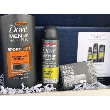 Dove Men+Care SPORTCARE Active+Fresh Deodorant