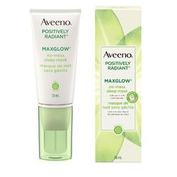 Aveeno Positively Radiant MaxGlow No-Mess Sleep Mask