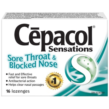 Cepacol Sensations- Sore Throat & Blocked Nose