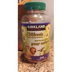 Kirkland Children's Multivitamin gummies