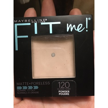 Maybelline fit me! Matte+Poreless 120 classic ivory powder