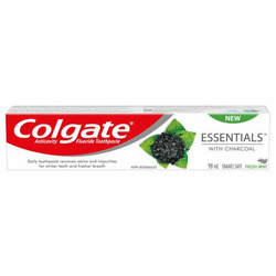 Colgate Essentials Toothpaste with Charcoal