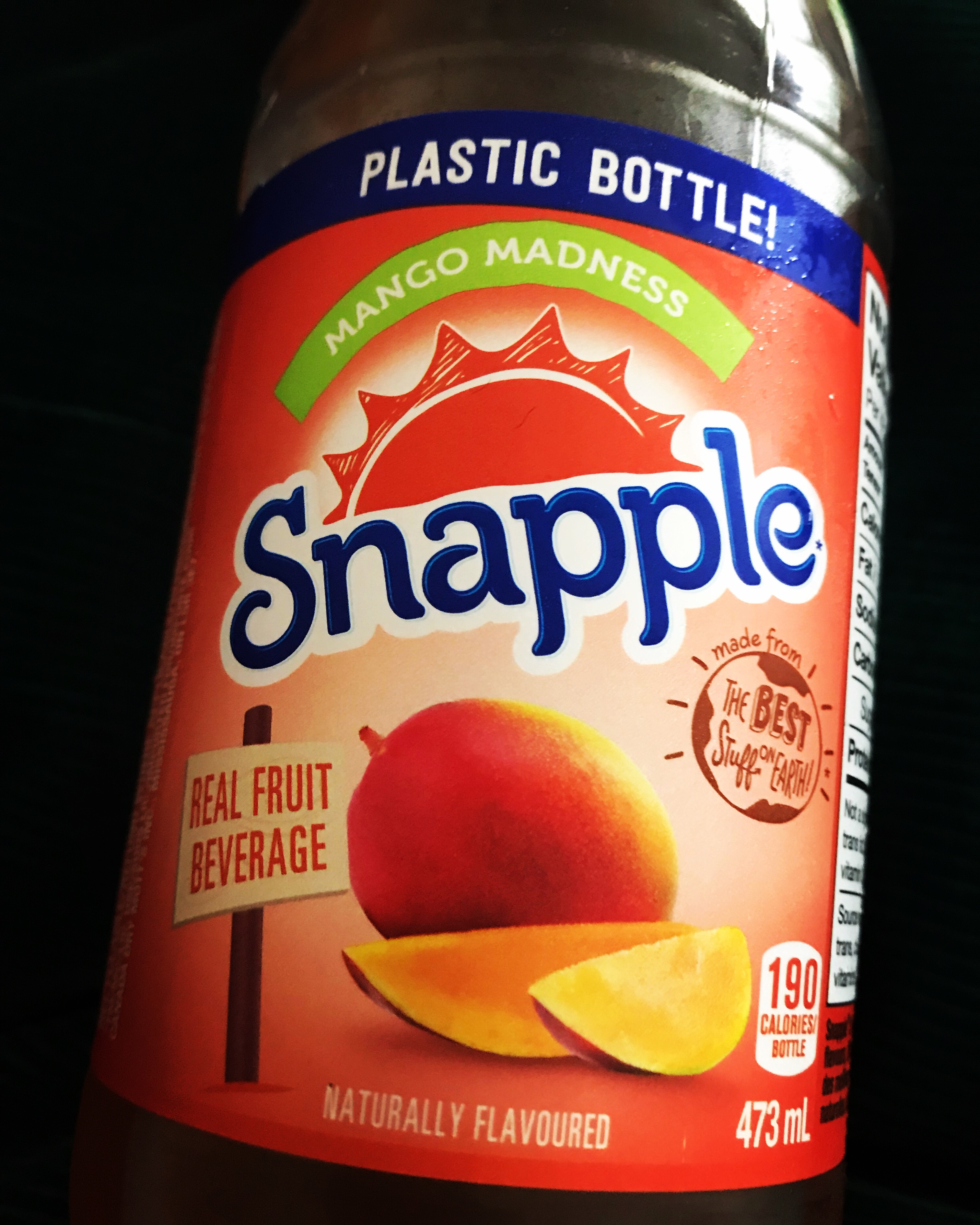 Snapple Mango Madness Juice Drink reviews in Juice - XY Stuff (page 3)