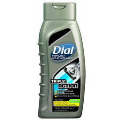 Dial for Men Triple Action Shave, Shower, Shampoo