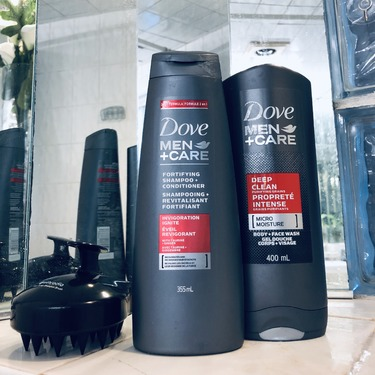 Dove Men + Care Fortifying Shampoo + Conditioner (Invigoration Ignite)