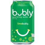 bubbly sparkling water