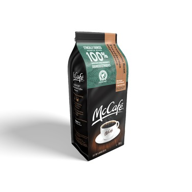 McCafé medium dark roast fine ground coffee