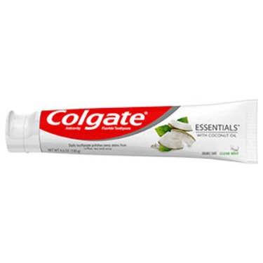 Colgate Essentials Toothpaste with Coconut Oil