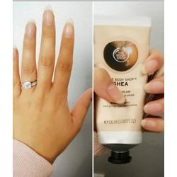 Bodyshop almond hand cream