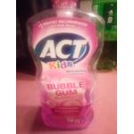 Act childrens bubblegum toothpaste