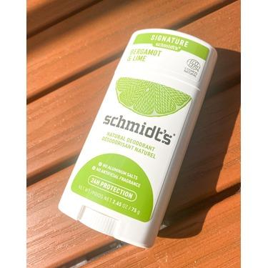 Schmidt's Bergamot + Lime Natural Deodorant