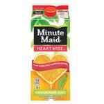 Minute maid orange juice  - Heartwise