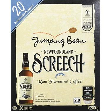 Jumping Bean Screech coffee kcups