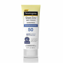 Neutrogena Sheer Zinc Dry-Touch Sunscreen with Broad Spectrum SPF 50