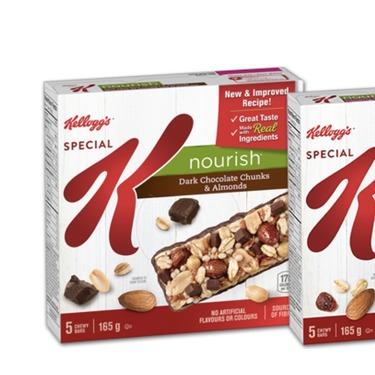 Special K nourish bar dark chocolate and almond