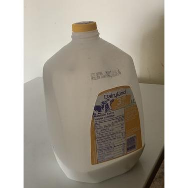 Dairyland 3.25% homogenized Milk jar