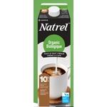 natrel fine filtered organic 10% cream