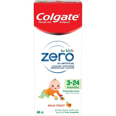 Colgate Zero for Kids 3-24 Months