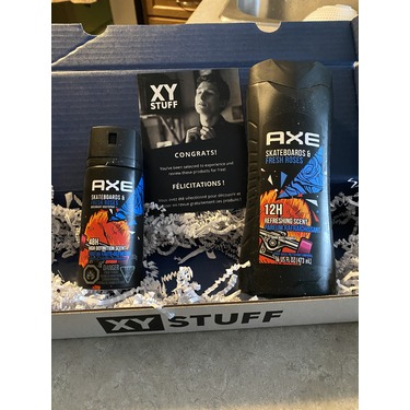 Axe Skateboards & Fresh Roses Body Spray