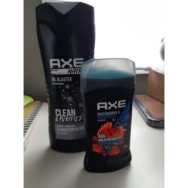 Axe Skateboards & Fresh Roses Deodorant