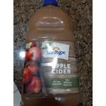 Sun rype Apple cider juice