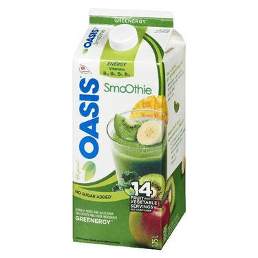 Oasis Green Smoothie Kale Banana