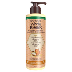 Garnier Whole Blends Sulfate Free Remedy Honey Treasures Shampoo for Damaged Hair