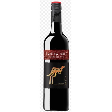 Yellow Tail Jammy Red Roo wine