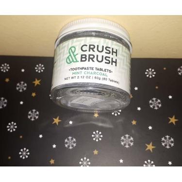 Crush & Brush- Toothpaste Tabs