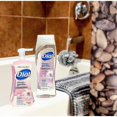 Dial Clean + Gentle Hypoallergenic Foaming Hand Wash-Waterlily- 221ml