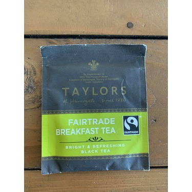 Taylors of Harrogate fairtrade breakfast tea
