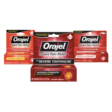 Orajel Instant Pain Relief -Toothache