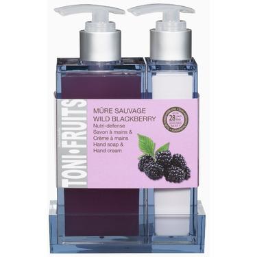 Hand Soap & Cream Duo Wild Blackberry - Dans un Jardin