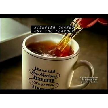 Tim Hortons Steeped Tea